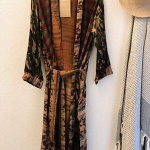 Cofur Kimono brændte farver