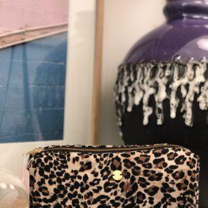 Grafizk Boxy Purse Leopard