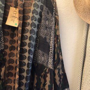 Cofur Kimono Blå/grå