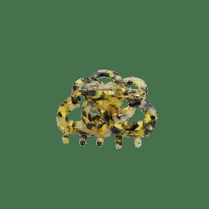 Hårklemme – Gul & Sort – fra By Stær