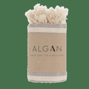 Algan – Kavun gæstehåndklæde/viskestykke, grå