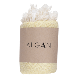 Algan – Nane gæstehåndklæde/viskestykke, Gul