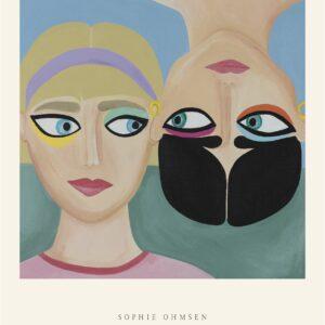 """Plakat – """"Venskab"""" – af Sophie Ohmsen"""