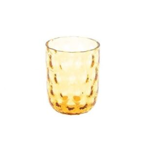 Glas – Amber med big drops – fra Kodanska