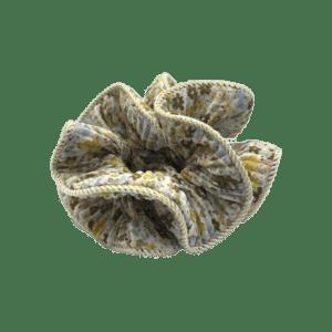 Scrunchie med blomsterprint – fra By Stær