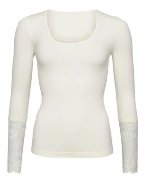 Tim & Simonsen long sleeve lace off white