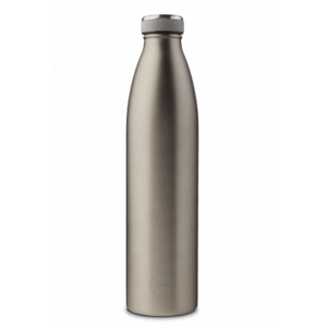 aya ida drikkeflaske 1000 ml cool grey