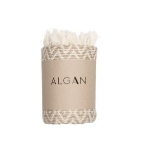 Algan – Sumak hamamhåndklæde – Beige