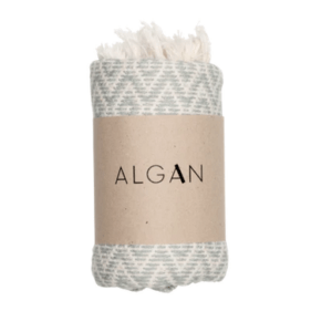 Algan – Sumak hamamhåndklæde – Lyseblå