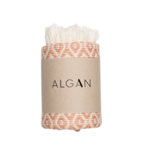 Algan – Sumak hamamhåndklæde – lyserød