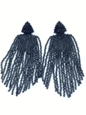 tokyo sort øreringe