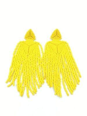 tokyo øreringe gul