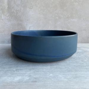 Julie Damhus keramikskål blå