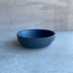 Julie Damhus keramikskål blue