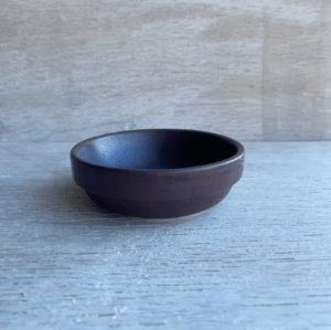 Julie Damhus keramikskål purple