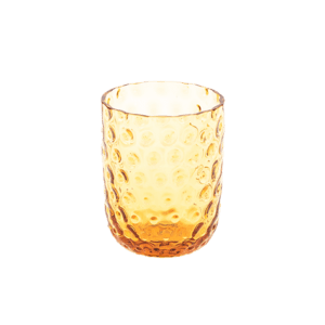kodanska small drop amber glas