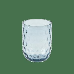 kodanska small drop blå glas