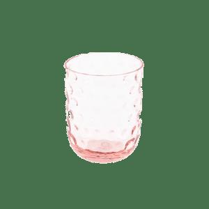 kodanska small drop pink glas
