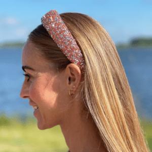 Glimmer hårbøjle