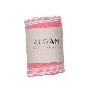 aya&ida algan håndklæde sade pink