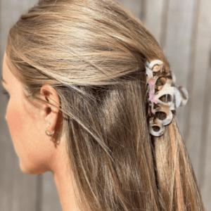 Stor hårklemme