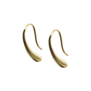 Øreringe – Daisy – forgyldt – fra By Stær
