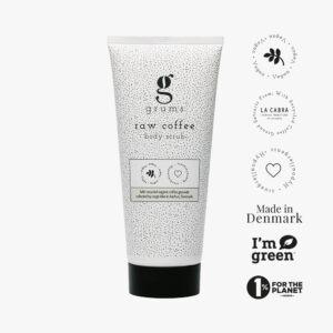 Body scrub – Raw Coffee fra Grums